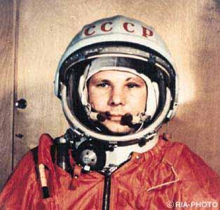 Yuri Alieksieievitch Gagarin, astronauta russo